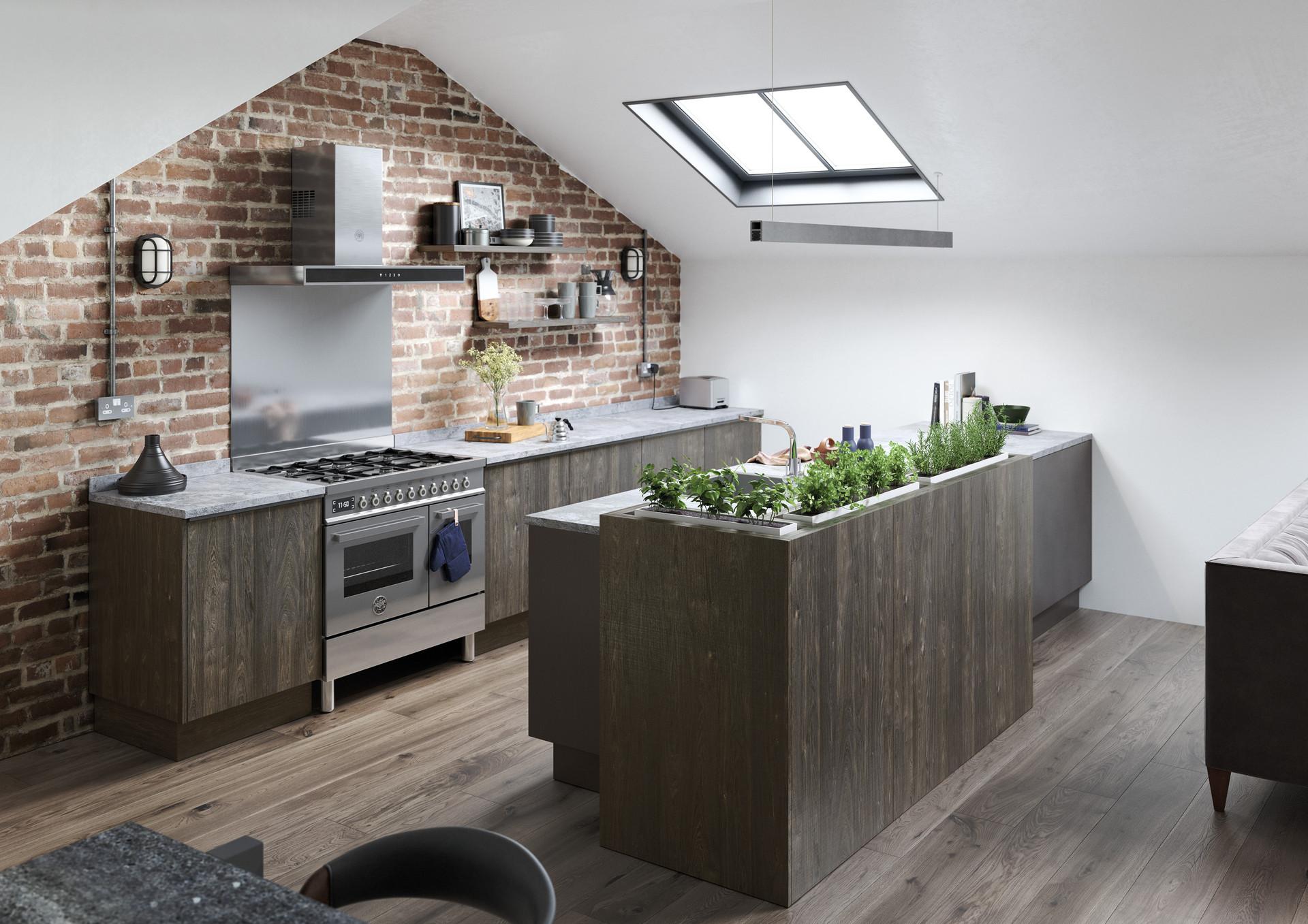 Rezana Carbon and Ferro Iron Kitchen