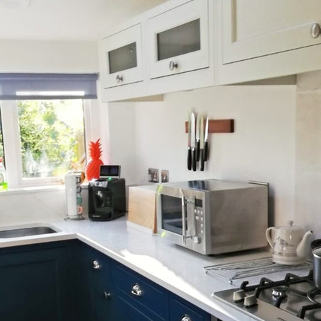 Traditional solid wood  in-frame kitchen project in Bare, Morecambe.