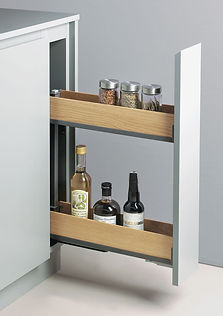 Peka Fioro base pull out with 2 shelves.