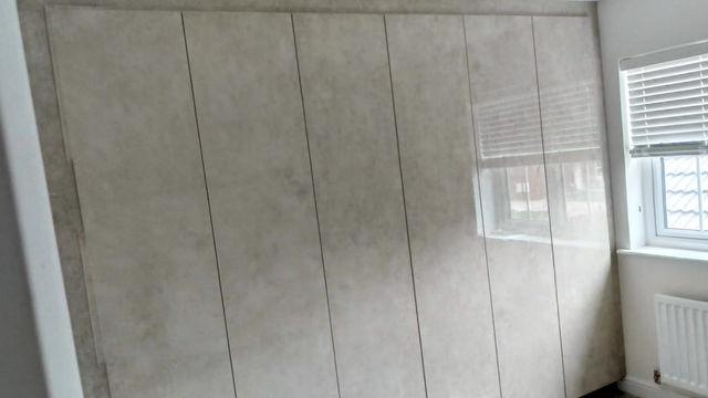 Melange cream bedroom project