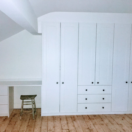 New Fitted Bedroom in Lancaster - White Tullymore