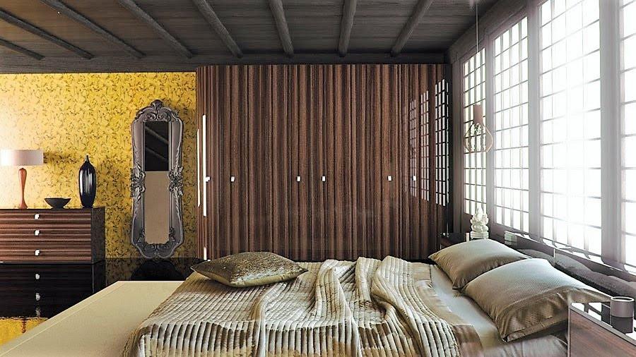 Macassar Gloss Bedroom