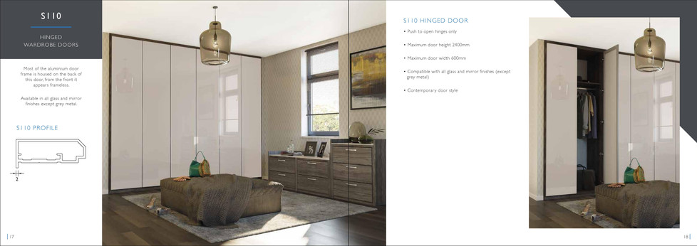 Sliding wardrobe door brochure 10