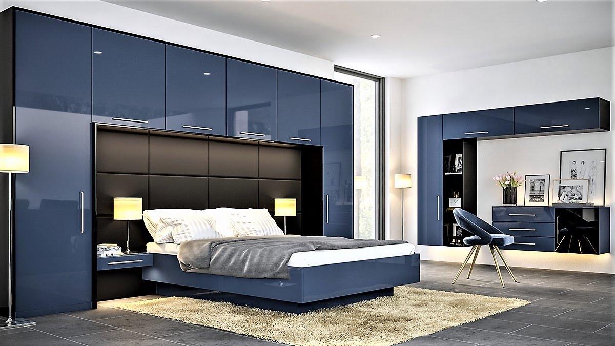 Ultragloss Baltic Blue bedroom
