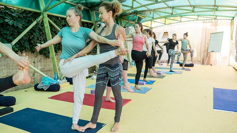 Alpha Yoga teacher training in the Greek Islands
