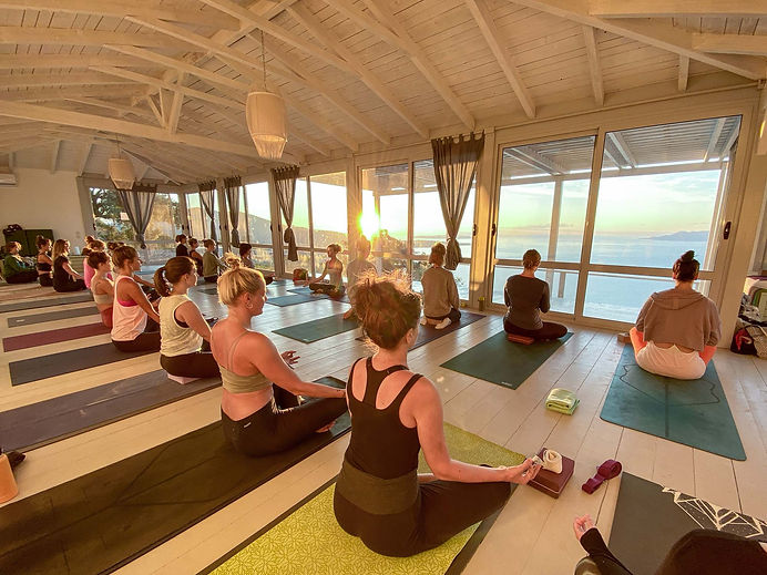 Yoga Teacher Training with Alpha Yoga School in Greece, Europe