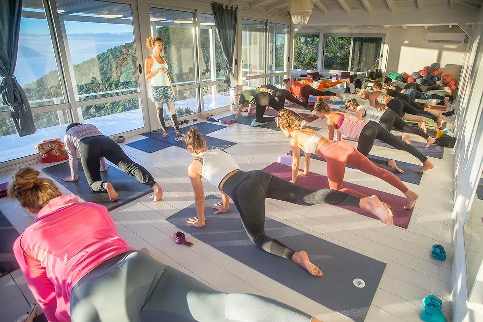yoga retreat July 2021