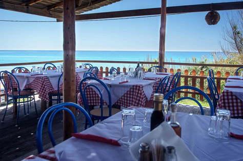 The restaurant where we eat