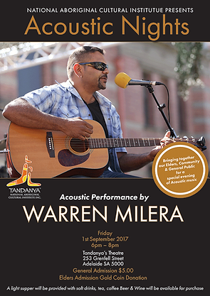 Acoustic Nights feat Warren Milera