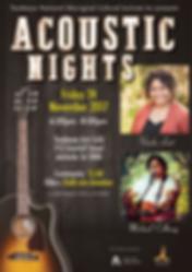 Acoustic Nights feat Vonda Last