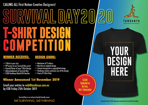 Survival Day 2020 T-shirt Competition.pn