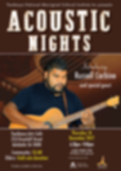 Acoustic Nighs feat Russell Carbine
