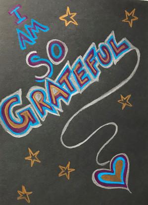 So Grateful...
