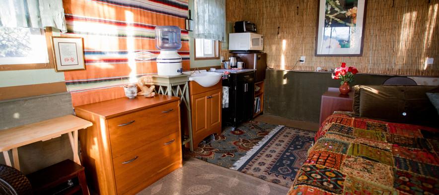 The Hut Inside