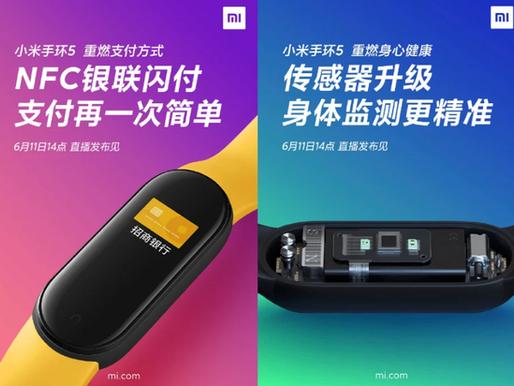 Xiaomi lança a nova Mi Band 5, com mais recursos e bom custo-benefício