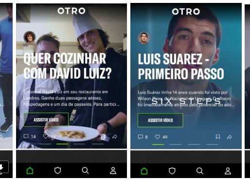 OTRO: conheça o app que aproxima fãs e jogadores de futebol