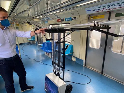 SP: Secretaria dos Transportes Metropolitanos testa tecnologia para combate à covid-19
