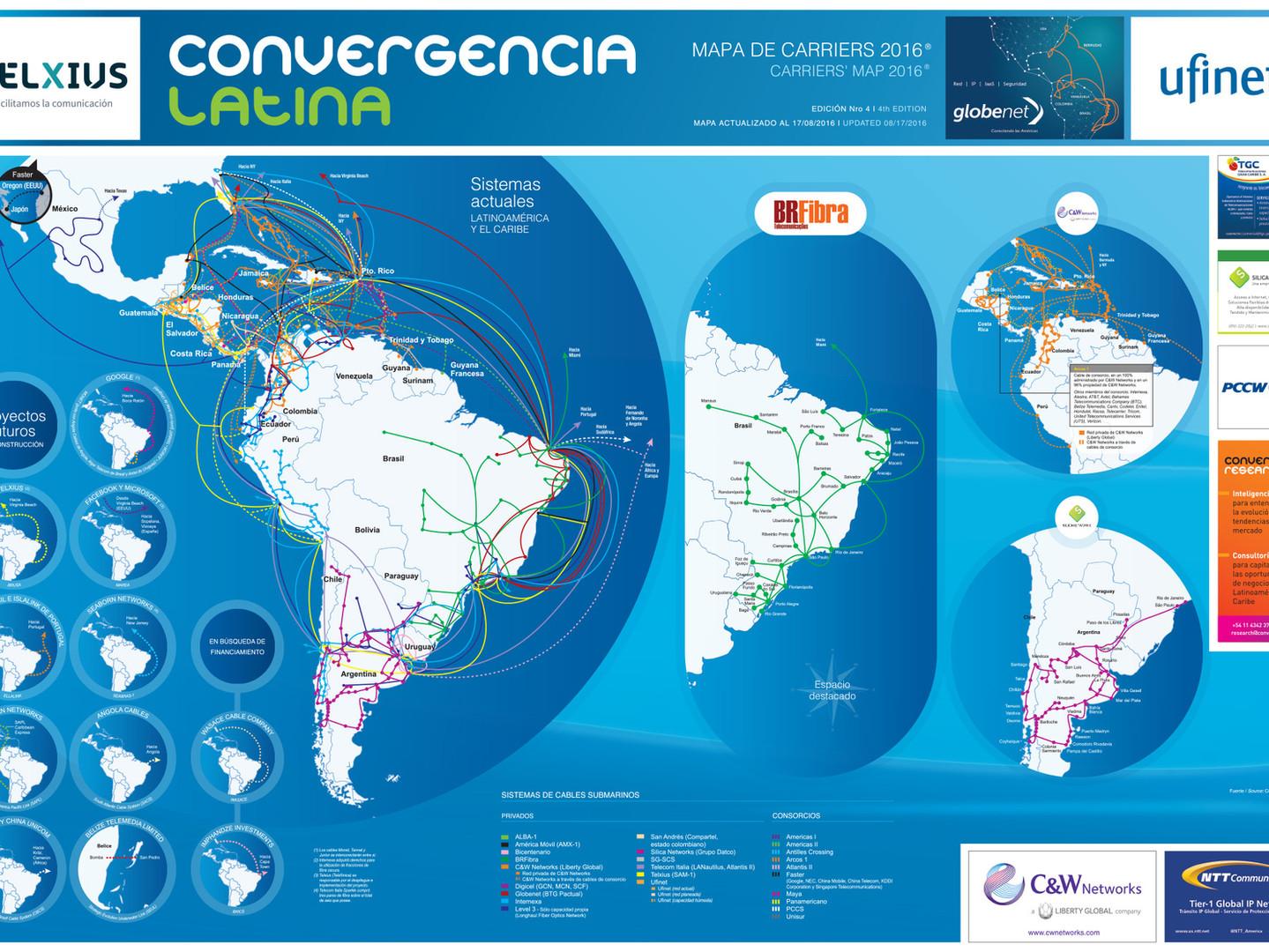 Mapa de Carriers