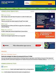 Adiario latino - Newsletter de noticias de telecomunicaciones y tecnología de América latina