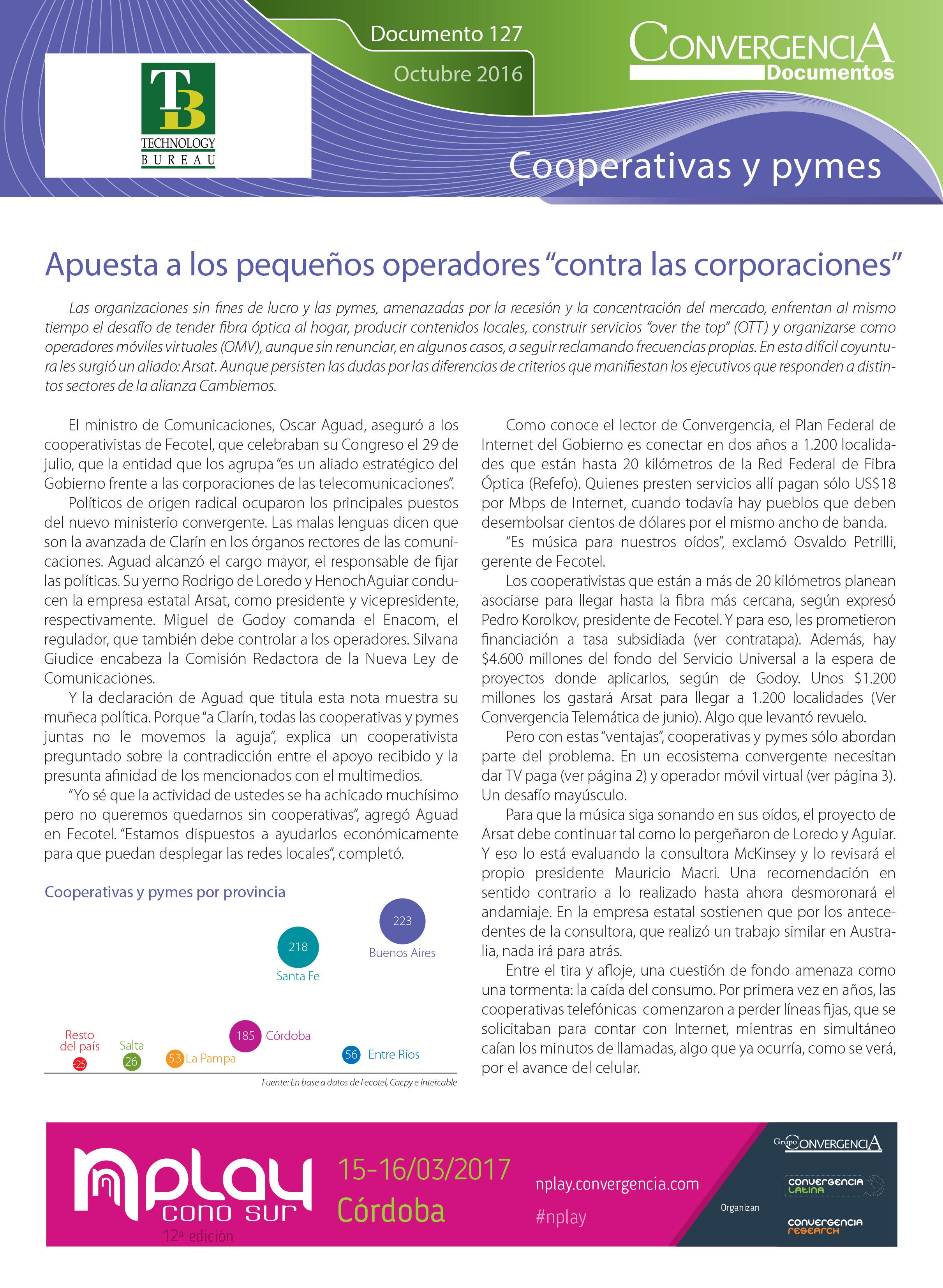 Cooperativas y pymes