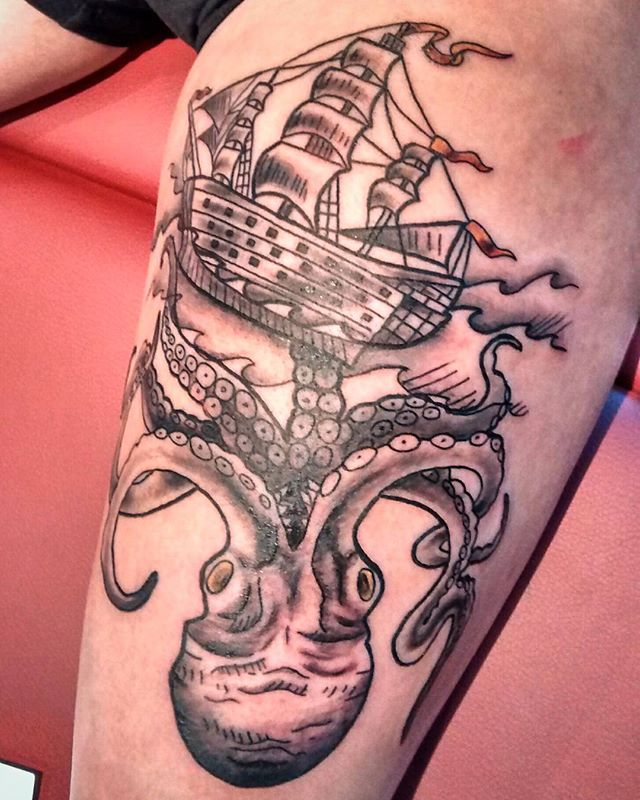 #neotrad #neotraditional #tattoo #tatou
