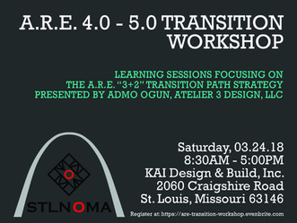STLNOMA to Host A.R.E. Learning Sessions