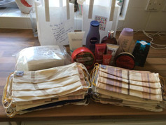 Mask & Toiletries Donated