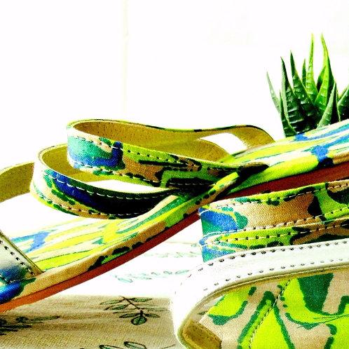 Sandals Greenery Sandales