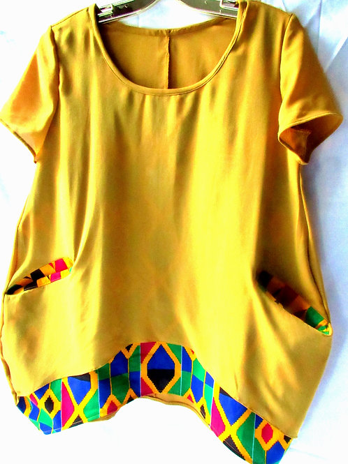 Sweet mustard Top/Haut