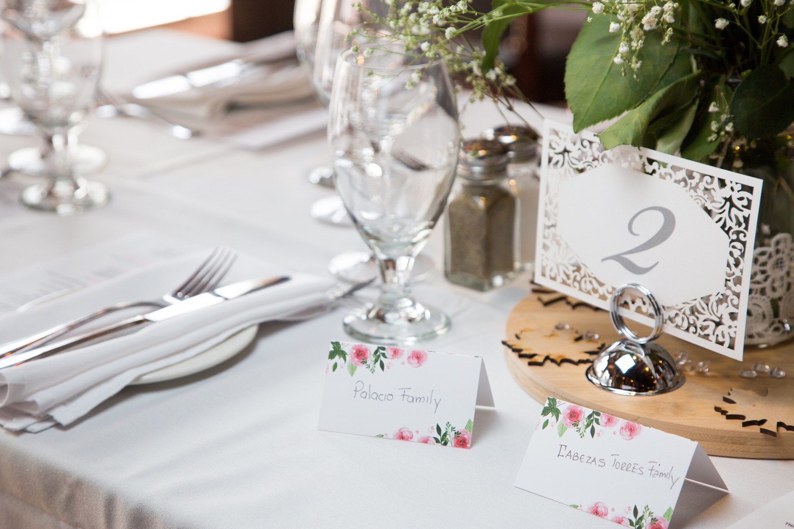 Guests table