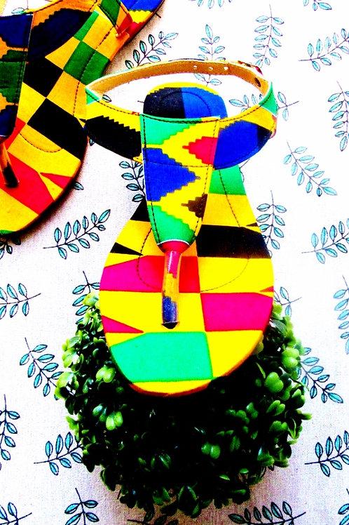 Sweet mustard - Sandals/Sandales