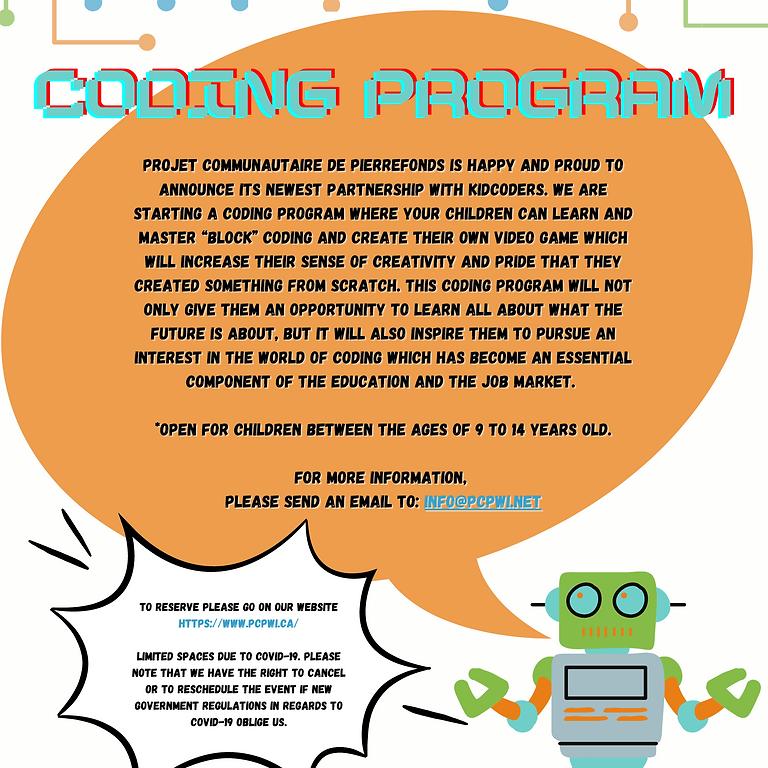 Programme de Codage - Coding Program