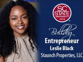 """SC State Celebrates """"Bulldog Entrepreneur""""- Leslie Black"""