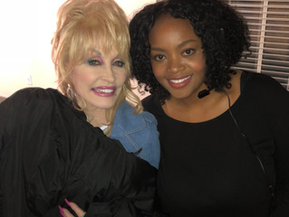 On Set with Dolly Parton