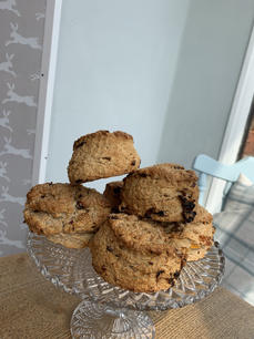 Date and Apricot Scones