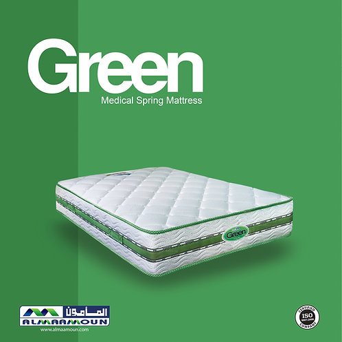 MATTRESS Green medical spring 27 CM - مرتبه جرين سوست طبيه 27 سم