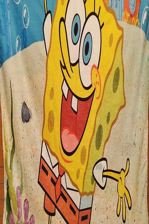 Kids curtain (Spong pop design) -ستاره أطفال تصميم سبنوج بوب