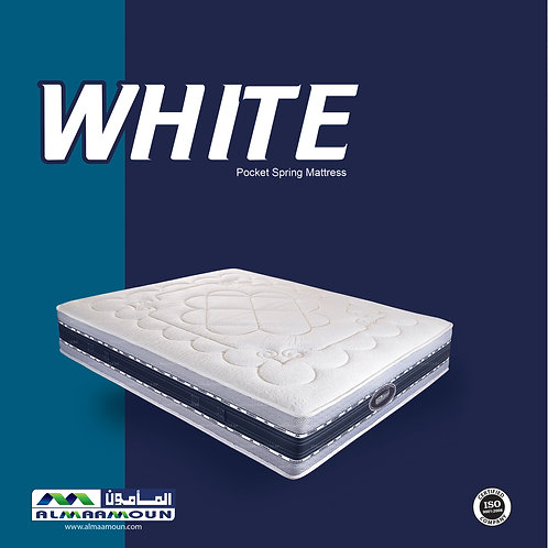 MATTRESS White pocket spring 30 CM - مرتبه وايت سوست منفصله 30 سم