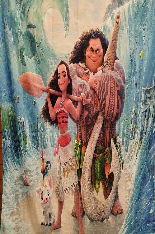Kids curtain (Moana design) -ستاره أطفال تصميم موانا
