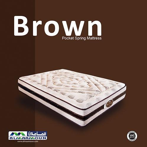 MATTRESS Brown pocket spring 29 CM - مرتبه براون سوست منفصله 29 سم