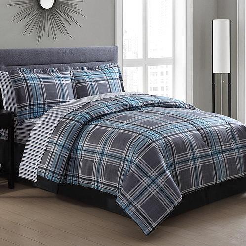 Flat bed sheet set (Tidy design)-تصميم تيدي) طقم سرير ملاية عادية)