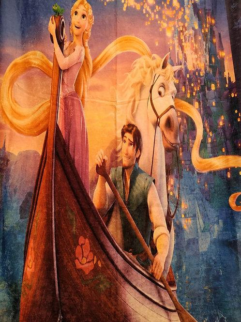 Kids curtain (Rapunzel design) -ستاره أطفال تصميم روبنزل