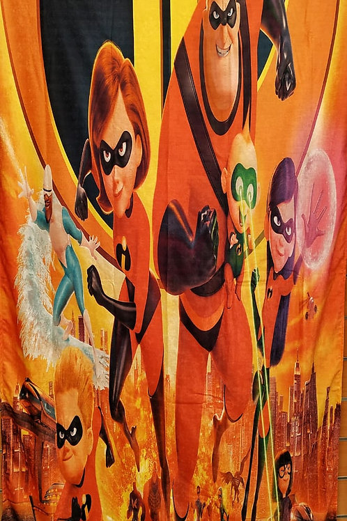 Kids curtain (Incredible design) -ستاره أطفال تصميم الخارقين