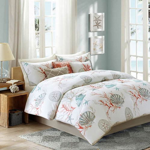 winter Fiber quilt (Sea Life design) -  لحاف فايبر شتوي