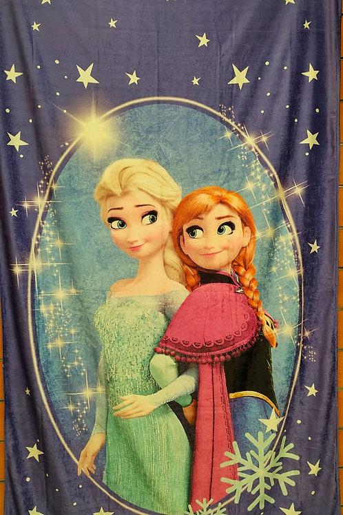 Kids curtain (Frozen design) -ستاره أطفال تصميم فروزن