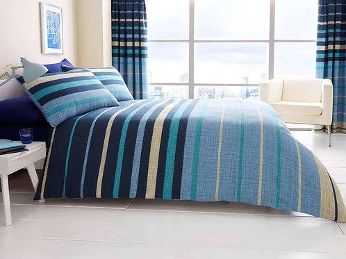 Flat bed set (Ocean design)  -(تصميم اوشن )طقم ملاية سرير عادية
