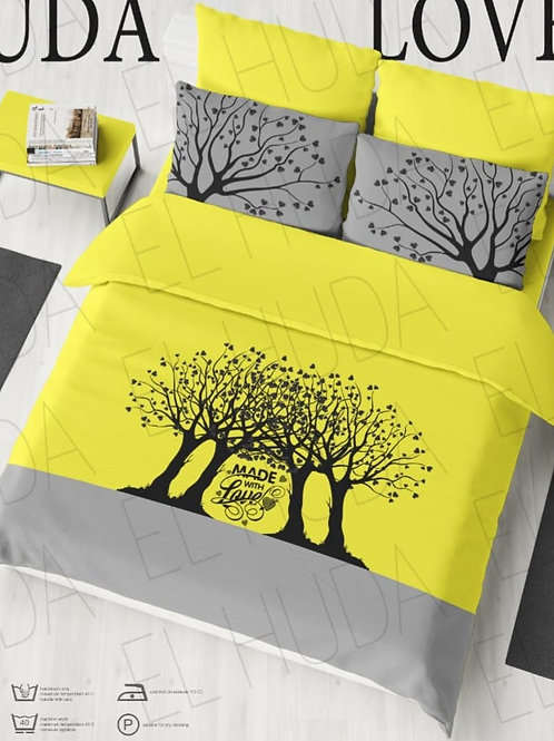 Bed sheet set 5 pieces - طقم سرير 5 قطع