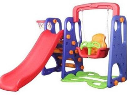 Swing, Slide & Basketball 3 X 1 ركن الاطفال المجمع
