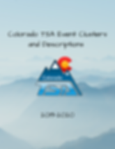 Colorado TSA Even Clusters and Descriptions