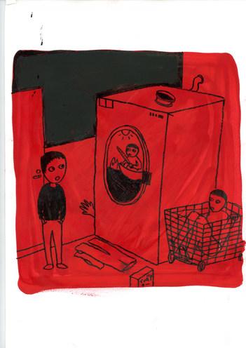 Pojken & sjörövarna i tvättstugan